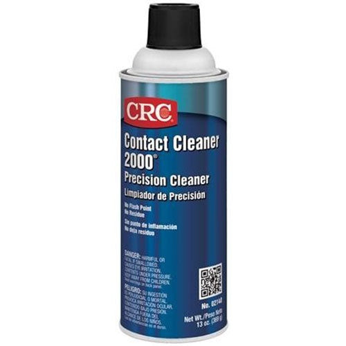 CRC - (2140) CONTACT CLEANER 2000® PRECISION CLEANER, 13 WT OZ, SINGLES & CASES - incl VAT - Chemqua