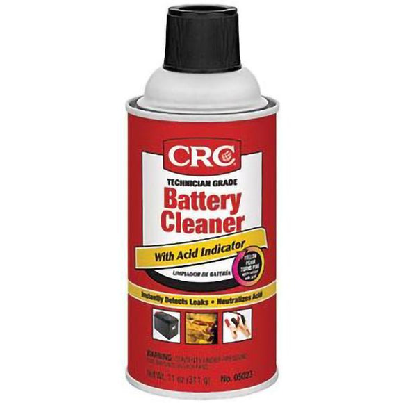 CRC - (5023) Battery Cleaner With Acid Indicator, 11 Wt Oz, Singles & Cases - incl VAT - Chemqua