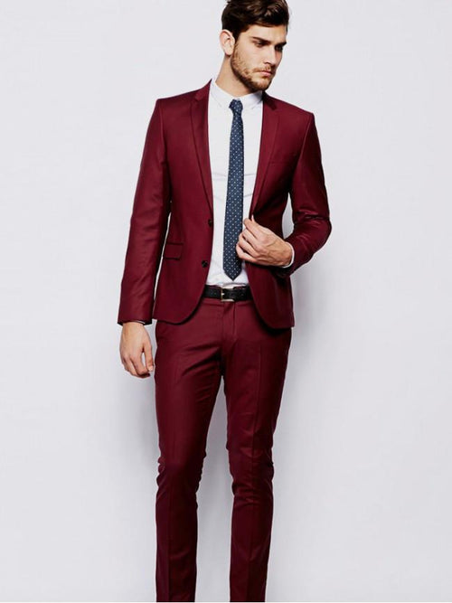 Skinny Fit Suit In Black