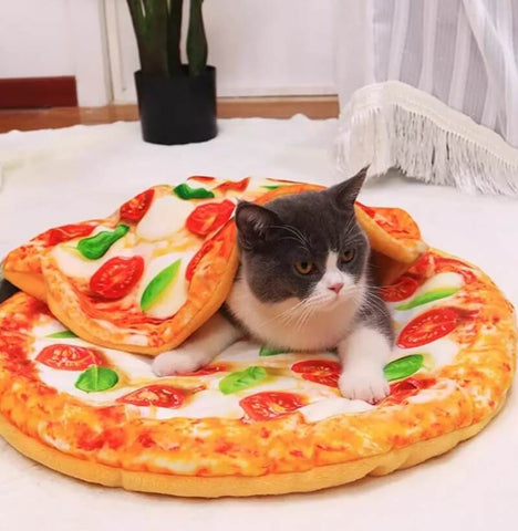 Pizza pet bed - Always Whiskered