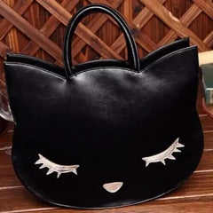 Cat Head Bag - Always Whiskered