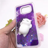 Squishy cat phone case - Always Whiskered
