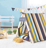 Striped Pet Tee Pee - Always Whiskered