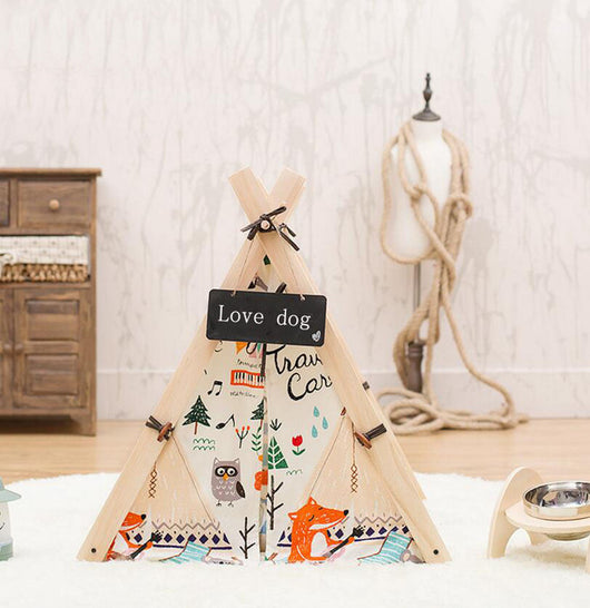 Pet Tee Pee - Always Whiskered