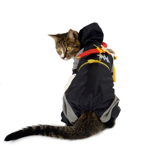Japanese Ninja Pet Costume ( 4 designs ) - Always Whiskered