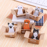 Kawaii Cats Sticky Notes ( 5pcs/ set ) - Always Whiskered