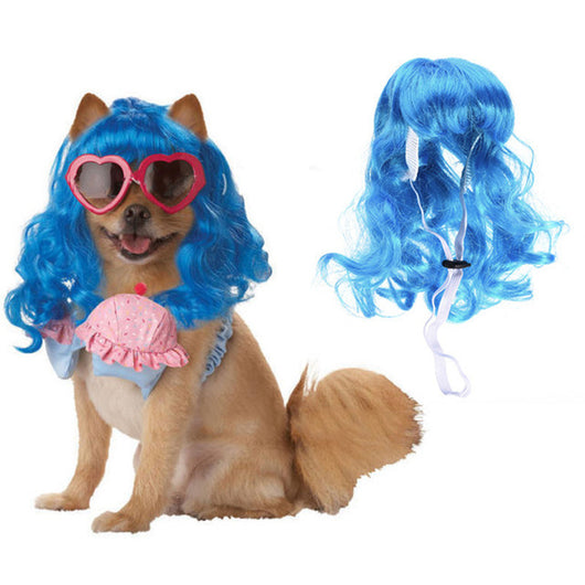Cosplay Girls Wig for Pets ( 6 colors) - Always Whiskered