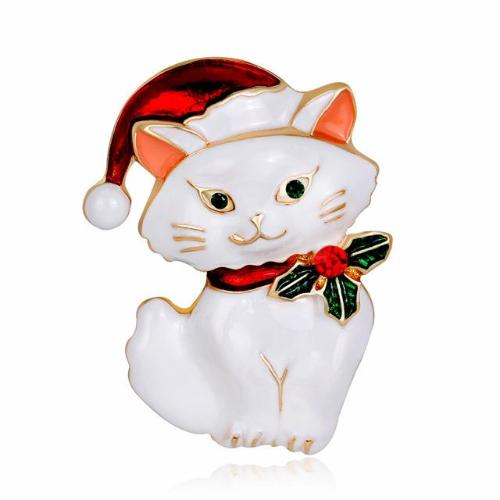 Merry Kitty  Brooch - Always Whiskered