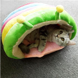 Over The Rainbow Cocoon Pet Bed - Always Whiskered