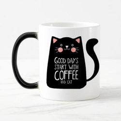 Coffee & Cats Mug - Always Whiskered