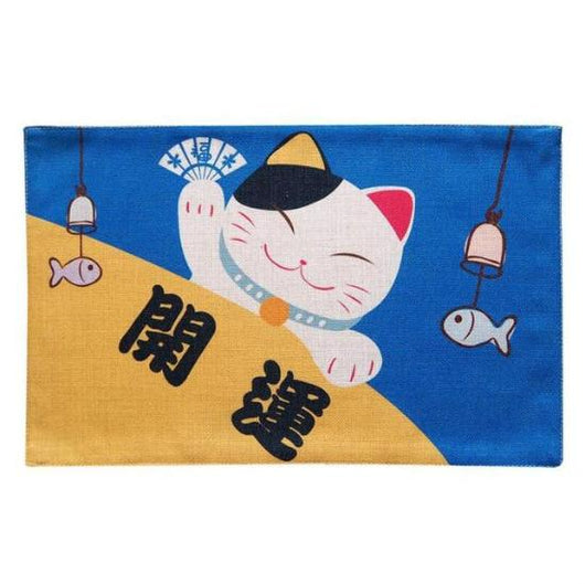 Maneki Neko Placemats - Always Whiskered