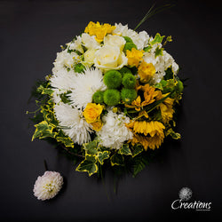 Wreath Tribute, Wreaths,- Creations Flowers