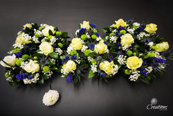 Flower Name Tribute - Dad, Wreaths,- Creations Flowers