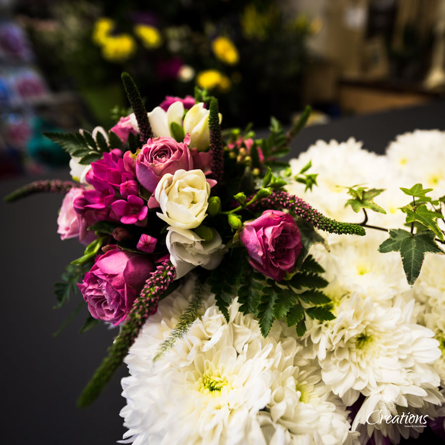 Funeral Letters Names Creations Flowers