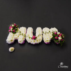 Name Tribute - Mum, Wreaths,- Creations Flowers