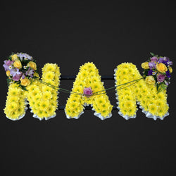 Flower Name Tribute - Nan, Wreaths,- Creations Flowers