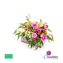 Eco-Friendly Wartime Trug Luxurious Flower Arrangement, Arrangements,- Creations Flowers