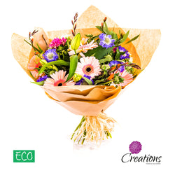 Eco-Friendly Bouquet of Luxurious Flowers, Bouquet,- Creations Flowers