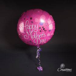 Helium Filled Mother's Day Balloon, Foil Balloons,- Creations Flowers