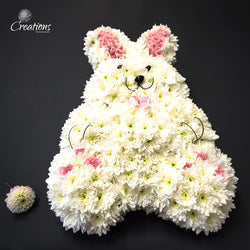 Rabbit Flower Tribute, Wreaths,- Creations Flowers