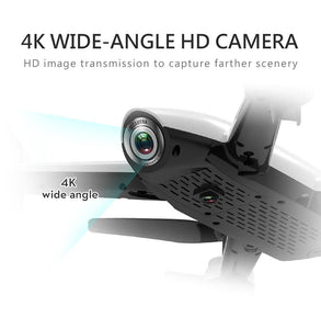 RC Drone with 4K or 1080P Ultra HD Wide Angle Dual Camera Lens Aerial Video Photo Remote Controlled Quadcopter Aircraft RC Quadrocopter Drone