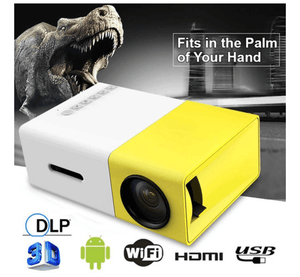 1080P Mini Portable Projector - Fits in the Palm of Your Hand