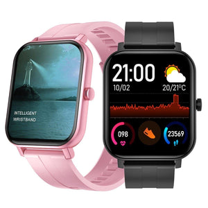 Ultimate Smart Watch with Heart Rate ECG BP Oxygen Immunity Monitor and Health Fitness Tracker Waterproof Touchscreen Smartwatch