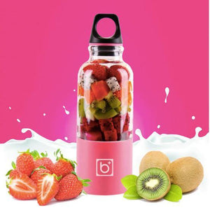 500ml Portable Juicer USB Rechargeable Blender Mixer Bottle