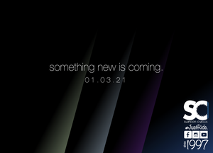 Step in - something new is coming.