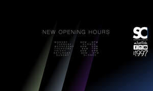 Check out our new Opening Hours!