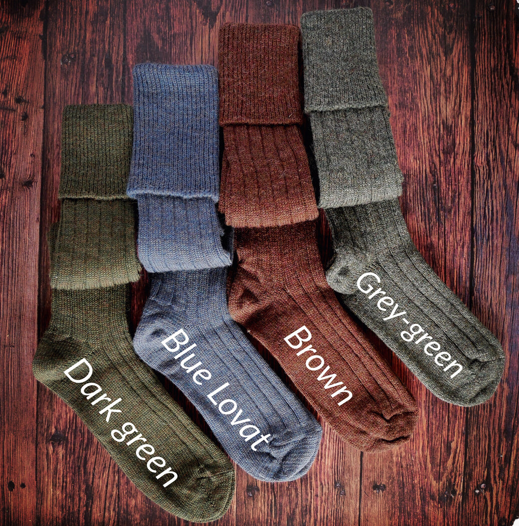 WOOL SHOOTING HOSE SOCKS
