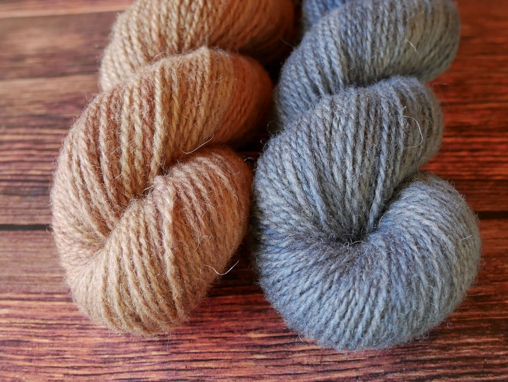 Organic Shetland  // Meant to be blue and bronze