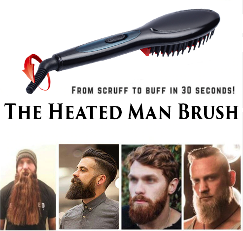 Heated Brush by Manly Groomer