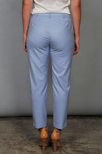 light blue pants back