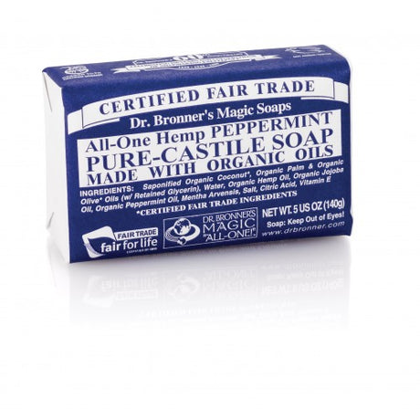 Dr Bronner's Organic Peppermint Soap Bar
