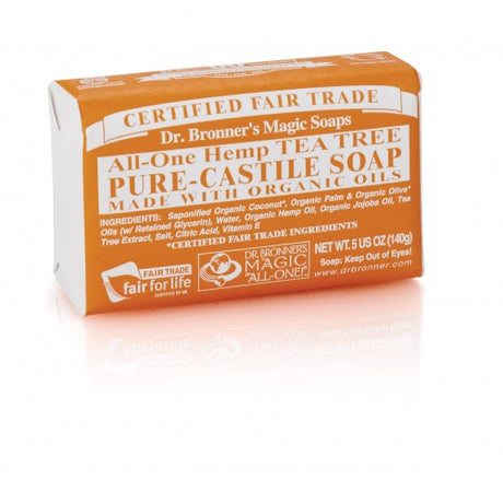 Dr Bronner's Organic Tea Tree Soap Bar