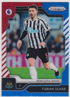 202. FABIAN SCHAR - NEWCASTLE - RED, WHITE AND BLUE PRIZM