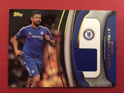 DIEGO COSTA - PLAYER WORN MEMORABILIA