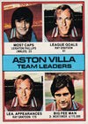 102. Aston Villa - Team Leaders