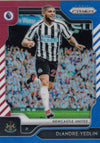 204. DEANDRE YEDLIN - NEWCASTLE - RED, WHITE AND BLUE PRIZM