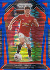 008. DANIEL JAMES - MANCHESTER UNITED - BLUE PULSAR PRIZM
