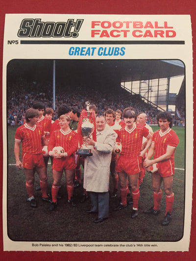 LIVERPOOL - GREAT CLUBS - Shoot! 1984