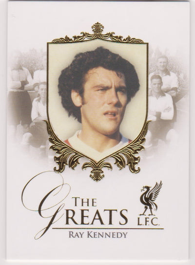 046. Ray Kennedy - The greats - Liverpool