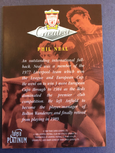 034. Phil Neal - Greatest - Liverpool