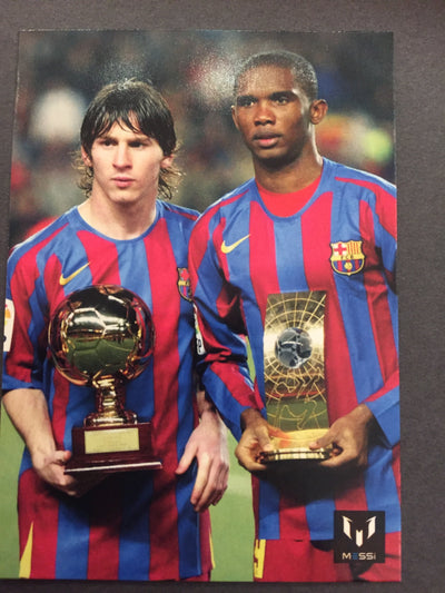 004. OFFICIAL MESSI CARD COLLECTION