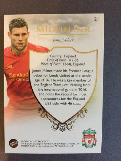 021. James Milner - Liverpool