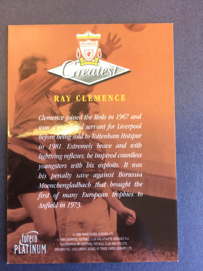 009. Ray Clemence - Greatest - Liverpool