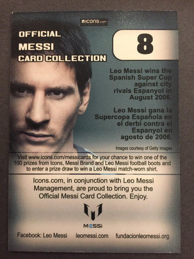 008. OFFICIAL MESSI CARD COLLECTION