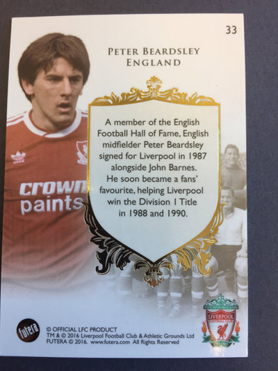 033. Peter Beardsley - The greats - Liverpool