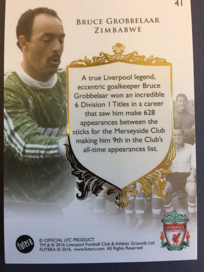 041. Bruce Grobbelaar - The greats - Liverpool